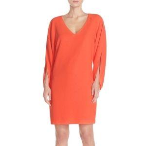 Trina Turk  | Odelia Slit Sleeve Dress Orange Mini